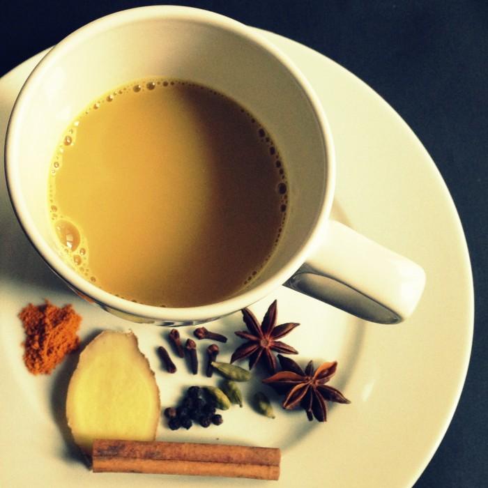 Chá verde com Especiarias (2)