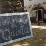 No restaurante da Quinta do Arneiro
