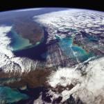 A Terra vista pelo astronauta Chris Hadfield
