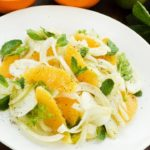 Salada de laranja e Funcho