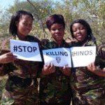 Mulheres Salvam Rinocerontes