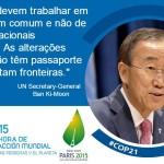 Conferência do Clima -COP21