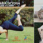 Aula Solidária de Yoga Animais de Rua