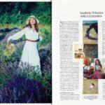 Atriz e Ecologista na Revista Activa deste Verão